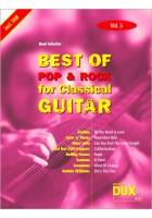 Best of Pop & Rock for Classical Guitar Vol. 3