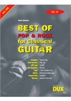 Best of Pop & Rock for Classical Guitar Vol. 10